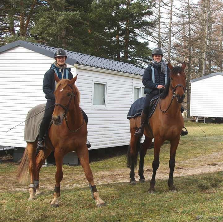 vacances avec mon cheval
